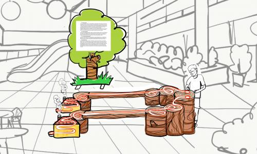 Holzlieferant