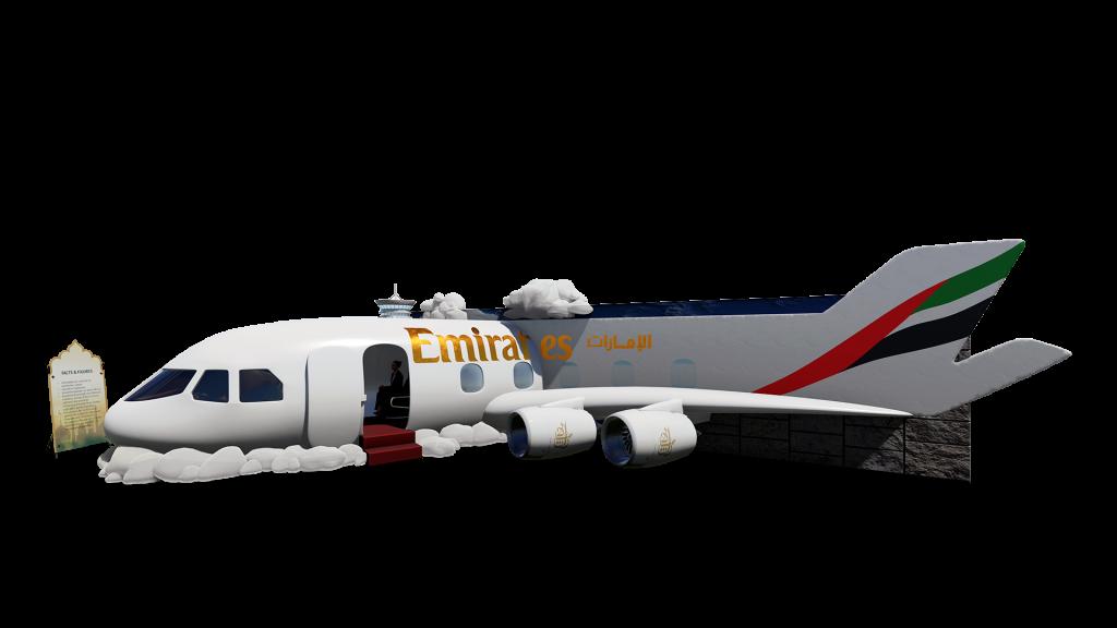 Airplane emirates